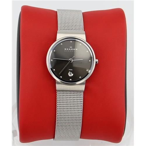 Luxury Brands Skagen 355SSSM 768680083002 B001QTXFX8 Fine Jewelry & Watches