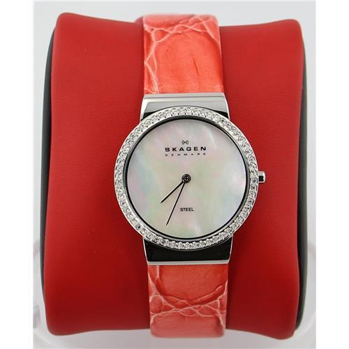 Luxury Brands Skagen 644LSLP4 768680114454 B001KY0LDQ Fine Jewelry & Watches