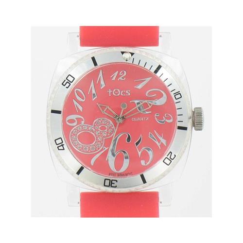 Analog Round Sporty-Diver Super 8 Red Watch 40007 WW02301N