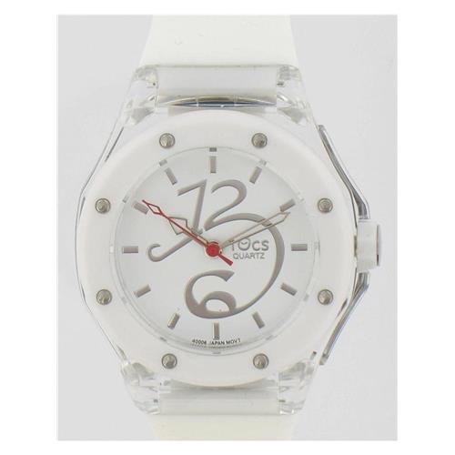 Ladies' 40006 White Analog Petite Watch WW02307N
