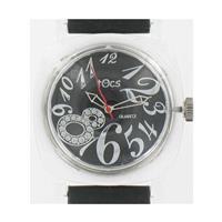men's Black 4003 Watch w/ Transparent Case WW02304N
