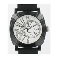 Cruise Double Loop Black Watch 40008 BLK WW02319N