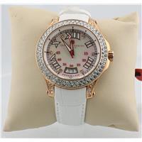 Elsa Silver Date Calendar Automatic Watch Copy X0245-020
